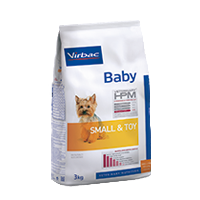 BABY DOG SMALL & TOY - Fôr til valper - Små hunderaser
